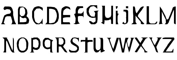 Gideon Plexus Font LOWERCASE