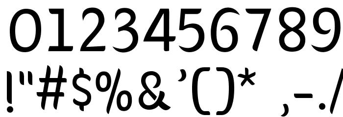 Giger Font OTHER CHARS