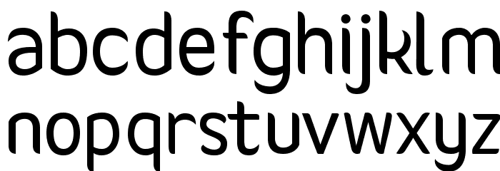Giger Font LOWERCASE
