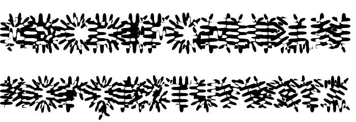 Gilgongo Pap Font Litere mari