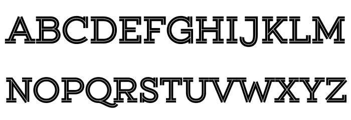 Gist Upright Extrabold Demo Font UPPERCASE