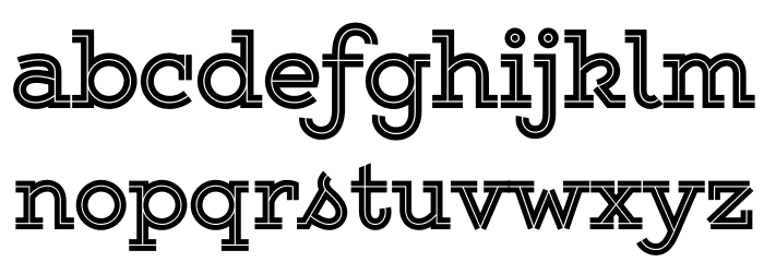 Gist Upright Extrabold Demo Font LOWERCASE