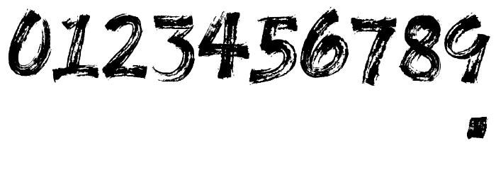 GLADES - DEMO Шрифта ДРУГИЕ символов
