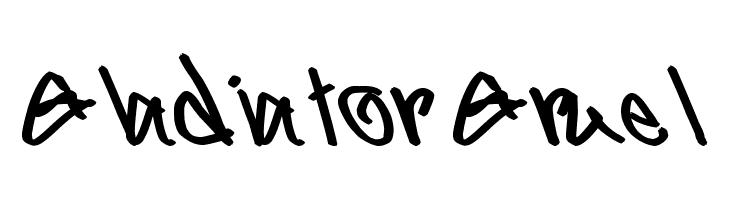 Gladiator Gruel  नि: शुल्क फ़ॉन्ट्स डाउनलोड