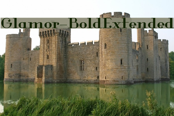 Glamor-BoldExtended Fuentes examples