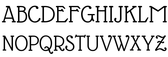 Glass Antiqua Font UPPERCASE