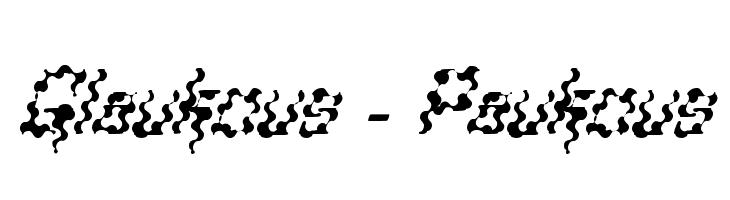 Glaukous - Paukous  Free Fonts Download