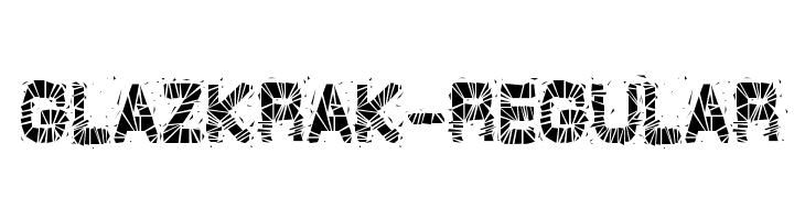 GlazKrak-Regular  les polices de caractères gratuit télécharger