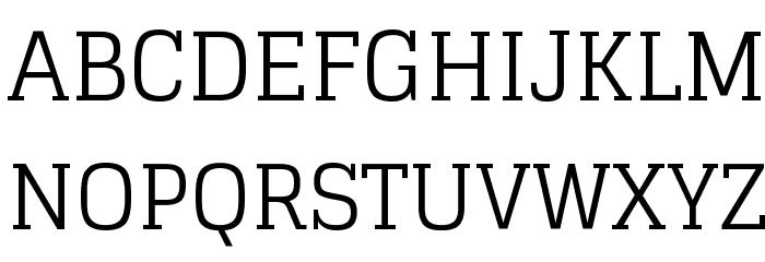 Glegoo Font UPPERCASE