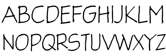 Glingzerminator لخطوط تنزيل الأحرف الكبيرة