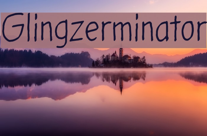Glingzerminator لخطوط تنزيل examples