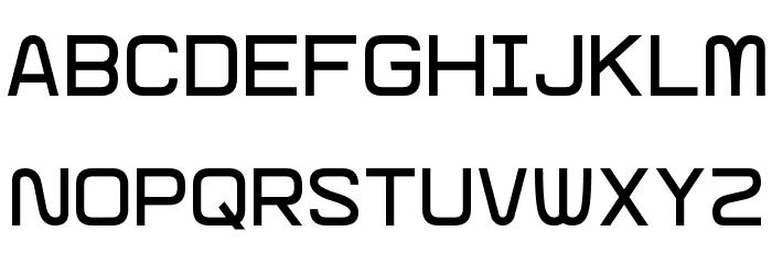 Glitch Slap Font Litere mari