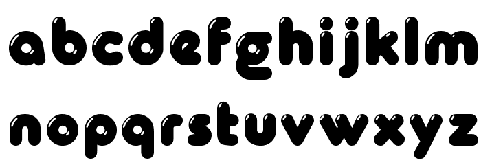 Glowworm Font LOWERCASE