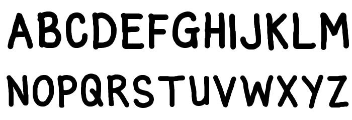 glen bold Font UPPERCASE