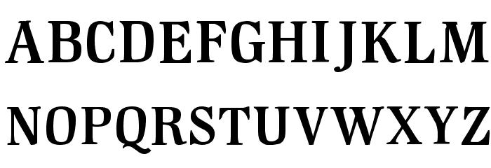 GM Hightop Font UPPERCASE