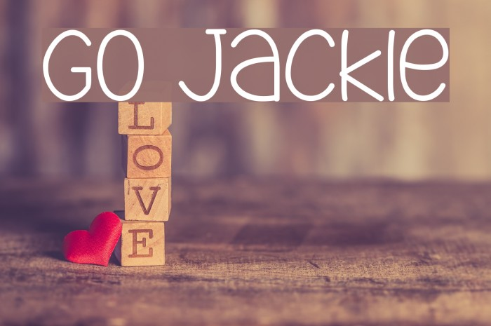 Go Jackie Fuentes examples