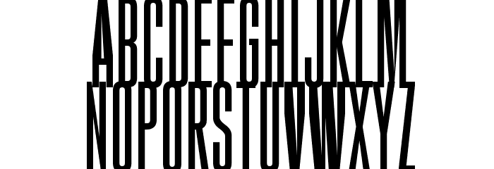 Gobold High Font UPPERCASE