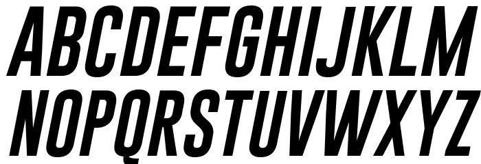 Gobold Lowplus Italic Italic Font UPPERCASE