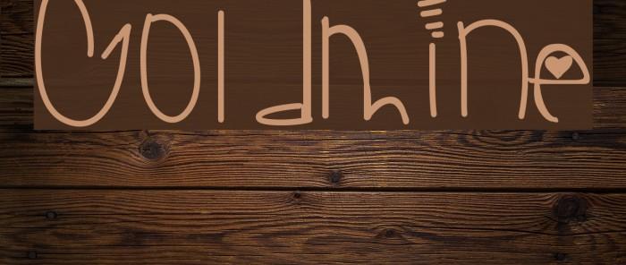 Goldmine Шрифта examples