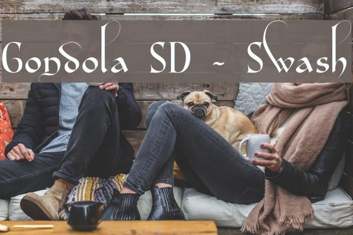 Gondola SD - Swash لخطوط تنزيل examples