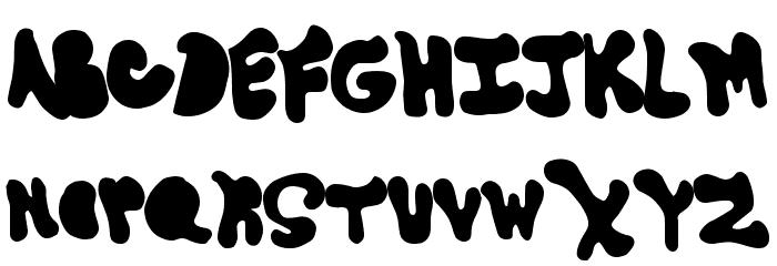 GoneAway Font UPPERCASE