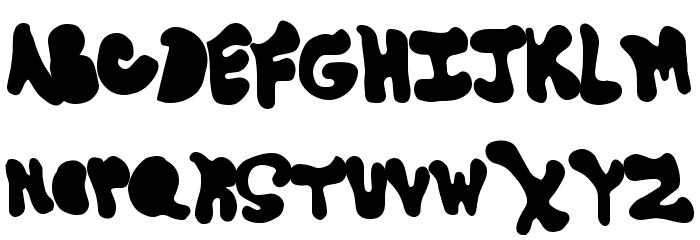 GoneAway Font LOWERCASE