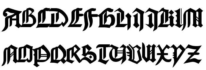 GoodCityModern Plain Schriftart Groß