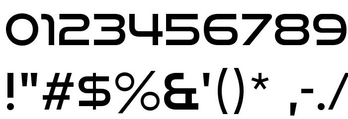 GoodTimesRg-Regular Font Alte caractere