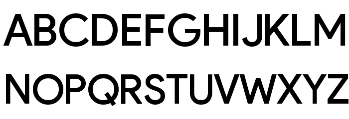 Google September 2015 Regular Font UPPERCASE