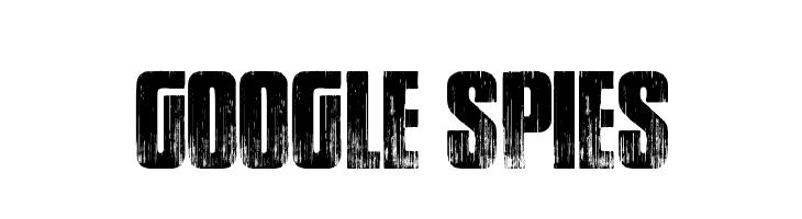 Google spies  font caratteri gratis