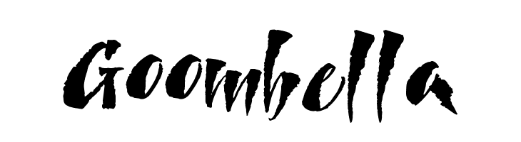 Goombella  Free Fonts Download