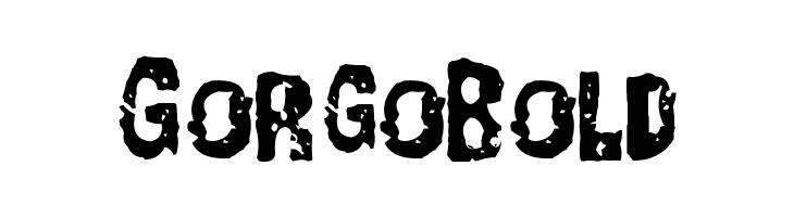 GorgoBold  les polices de caractères gratuit télécharger