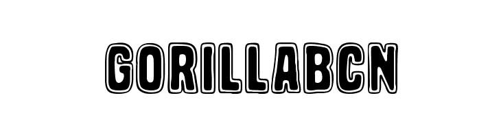 Gorilla BCN  les polices de caractères gratuit télécharger