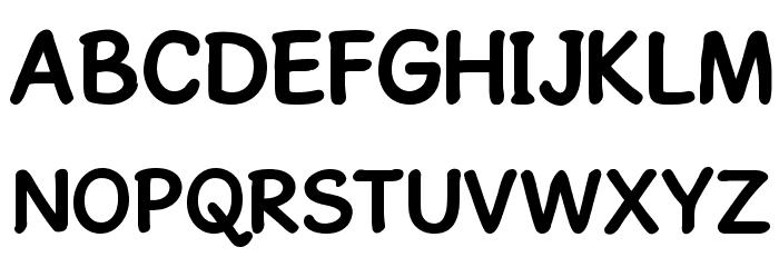 GosmickSansBold Font Litere mari