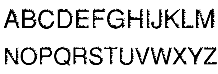 Gotohellvetica Normal Font UPPERCASE