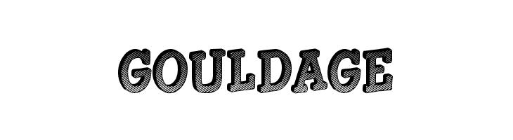 Gouldage  font caratteri gratis