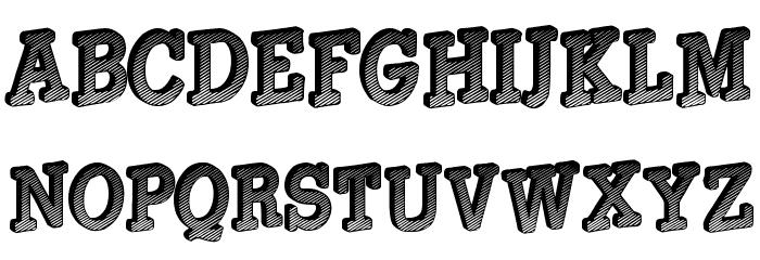 Gouldage لخطوط تنزيل الأحرف الكبيرة