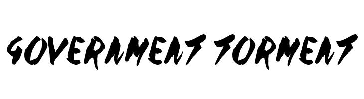 Government Torment  لخطوط تنزيل