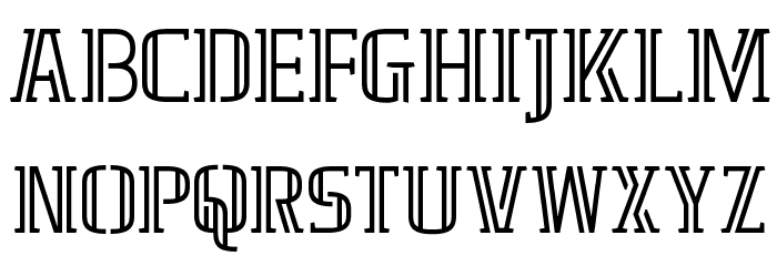 GRAFIKA TYPE.2 2 LINE फ़ॉन्ट अपरकेस