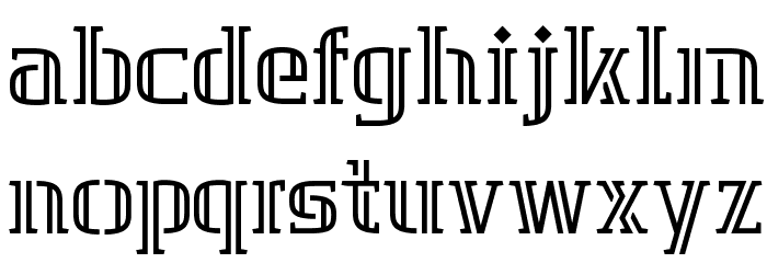 GRAFIKA TYPE.2 2 LINE Polices MINUSCULES