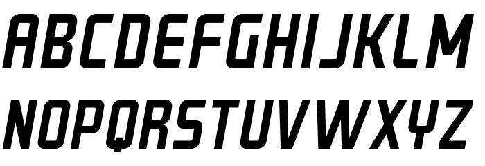 GRAYSTROKE-Italic Font UPPERCASE