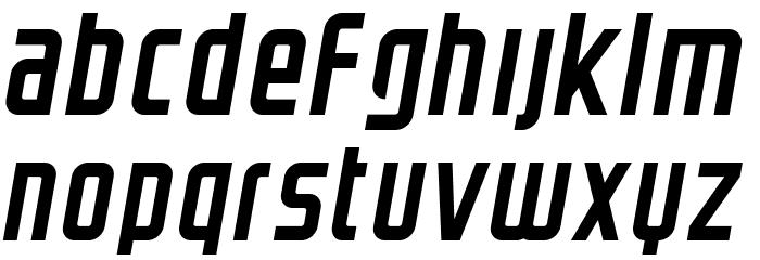 GRAYSTROKE-Italic Font LOWERCASE
