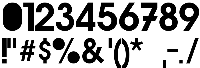 Gr-Ambient Font OTHER CHARS