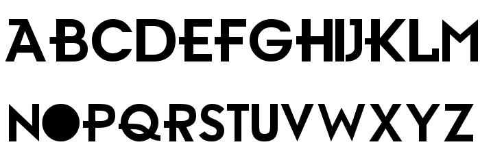 Gr-Ambient Font UPPERCASE