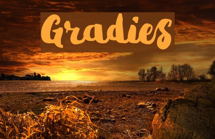 Gradies Caratteri examples
