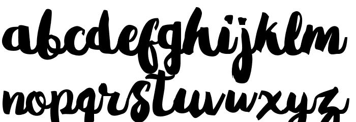 Gradies Шрифта строчной