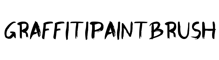 GraffitiPaintBrush  لخطوط تنزيل