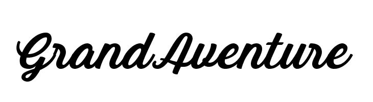GrandAventure  Скачать бесплатные шрифты
