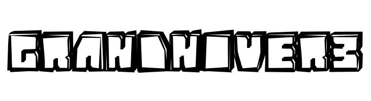 GrandNover3  Free Fonts Download