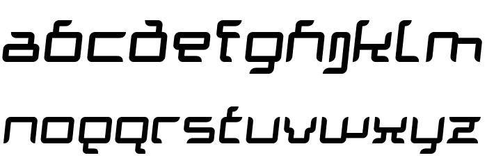 Granolae Regular Italic Font UPPERCASE